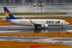 Tomo_lgmさんが、羽田空港で撮影したスカイマーク 737-86Nの航空フォト(写真)