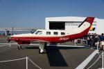 T.Sazenさんが、神戸空港で撮影した日本法人所有 PA-46-350P Malibu Mirageの航空フォト(飛行機 写真・画像)