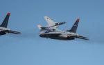 こびとさんさんが、入間飛行場で撮影した川崎重工業 T-4の航空フォト(写真)