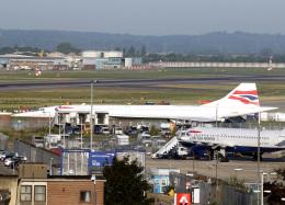 voyagerさんが、ロンドン・ヒースロー空港で撮影したブリティッシュ・エアウェイズ Concorde 102の航空フォト(写真)