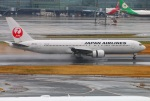 Tomo_lgmさんが、羽田空港で撮影した日本航空 767-346/ERの航空フォト(写真)