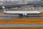 Tomo_lgmさんが、羽田空港で撮影したキャセイパシフィック航空 777-367/ERの航空フォト(写真)
