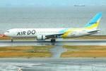 Tomo_lgmさんが、羽田空港で撮影したAIR DO 767-33A/ERの航空フォト(写真)