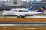 Tomo_lgmさんが、羽田空港で撮影したルフトハンザドイツ航空 747-830の航空フォト(写真)