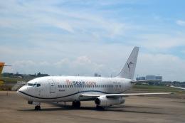 masakさんが、マクタン・セブ国際空港で撮影したSEAIR インターナショナル 737-2T4C/Advの航空フォト(飛行機 写真・画像)