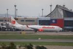 A350XWB-HNDさんが、台湾桃園国際空港で撮影したマリンド・エア 737-9GP/ERの航空フォト(写真)