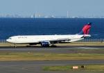 じーく。さんが、羽田空港で撮影したデルタ航空 A330-302の航空フォト(飛行機 写真・画像)