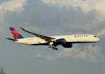 じーく。さんが、成田国際空港で撮影したデルタ航空 A350-941の航空フォト(飛行機 写真・画像)