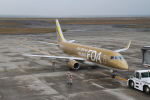はるさんが、山口宇部空港で撮影したフジドリームエアラインズ ERJ-170-200 (ERJ-175STD)の航空フォト(飛行機 写真・画像)