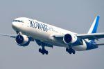 まいけるさんが、スワンナプーム国際空港で撮影したクウェート航空 777-369/ERの航空フォト(写真)