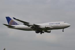 @Yuuさんが、成田国際空港で撮影したユナイテッド航空 747-451の航空フォト(飛行機 写真・画像)