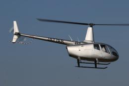 ゴンタさんが、東京ヘリポートで撮影した日本法人所有 R66 Turbineの航空フォト(写真)