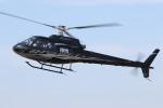 ゴンタさんが、東京ヘリポートで撮影した日本法人所有 AS350B Ecureuilの航空フォト(写真)