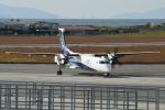 tobeyamaさんが、松山空港で撮影したANAウイングス DHC-8-402Q Dash 8の航空フォト(写真)