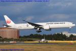 Chofu Spotter Ariaさんが、成田国際空港で撮影した日本航空 777-346/ERの航空フォト(写真)
