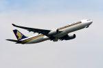 まいけるさんが、スワンナプーム国際空港で撮影したシンガポール航空 A330-343Xの航空フォト(写真)