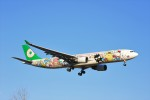 hidetsuguさんが、新千歳空港で撮影したエバー航空 A330-302Xの航空フォト(写真)