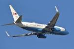 小金井原住民さんが、横田基地で撮影したアメリカ空軍 C-40B BBJ (737-7CP)の航空フォト(写真)