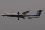 木人さんが、成田国際空港で撮影したANAウイングス DHC-8-402Q Dash 8の航空フォト(写真)