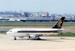 kintaroさんが、福岡空港で撮影したシンガポール航空 A310-324の航空フォト(写真)