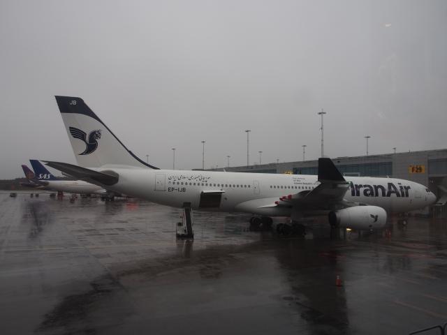 ストックホルム・アーランダ空港...