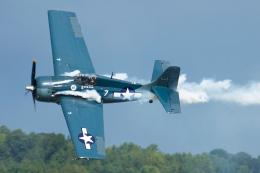 Tomo-Papaさんが、オシアナ海軍航空基地アポロソーセックフィールドで撮影したアメリカ企業所有 F4F Wildcatの航空フォト(写真)