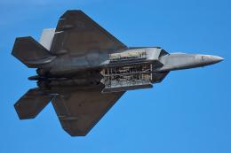 Tomo-Papaさんが、アンドルーズ統合基地で撮影したアメリカ空軍 F-22A-35-LM Raptorの航空フォト(写真)