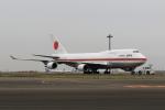 たまさんが、羽田空港で撮影した航空自衛隊 747-47Cの航空フォト(写真)