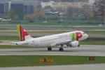 pringlesさんが、チューリッヒ空港で撮影したTAPポルトガル航空 A319-111の航空フォト(写真)