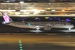 Wings Flapさんが、羽田空港で撮影したカタール航空 A350-941XWBの航空フォト(写真)