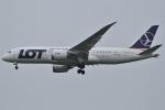 Wings Flapさんが、成田国際空港で撮影したLOTポーランド航空 787-8 Dreamlinerの航空フォト(写真)