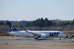 鷹輝@SKY TEAMさんが、成田国際空港で撮影したLOTポーランド航空 787-8 Dreamlinerの航空フォト(写真)