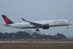 Wings Flapさんが、成田国際空港で撮影したデルタ航空 A350-941XWBの航空フォト(写真)