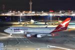よしポンさんが、羽田空港で撮影したカンタス航空 747-438/ERの航空フォト(写真)