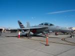 チャッピー・シミズさんが、ネリス空軍基地で撮影したアメリカ海軍 EA-18G Growlerの航空フォト(写真)