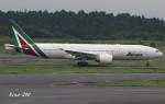 RINA-200さんが、成田国際空港で撮影したアリタリア航空 777-2Q8/ERの航空フォト(写真)