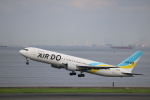 motokimuさんが、羽田空港で撮影したAIR DO 767-33A/ERの航空フォト(写真)