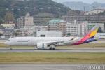 遠森一郎さんが、福岡空港で撮影したアシアナ航空 A350-941XWBの航空フォト(写真)