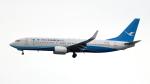 誘喜さんが、香港国際空港で撮影した厦門航空 737-86Nの航空フォト(写真)