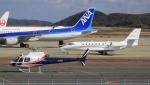ピーチさんが、岡山空港で撮影したノエビア AS350B3 Ecureuilの航空フォト(写真)