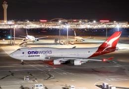 Yuta.Mさんが、羽田空港で撮影したカンタス航空 747-438/ERの航空フォト(写真)