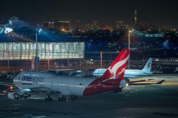 jr2rqcさんが、羽田空港で撮影したカンタス航空 747-438/ERの航空フォト(飛行機 写真・画像)