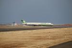 飛行機好き少年さんが、仙台空港で撮影した立栄航空 MD-90-30の航空フォト(写真)