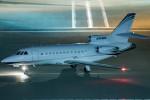 はやたいさんが、羽田空港で撮影したCORPORATE FLEET SERVICES LLC Falcon 900の航空フォト(写真)