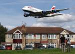voyagerさんが、ロンドン・ヒースロー空港で撮影したブリティッシュ・エアウェイズ A380-841の航空フォト(飛行機 写真・画像)