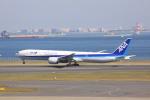 けいとパパさんが、羽田空港で撮影した全日空 777-381/ERの航空フォト(写真)