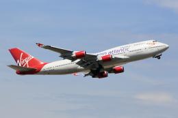 ANDさんが、ロンドン・ガトウィック空港で撮影したヴァージン・アトランティック航空 747-443の航空フォト(飛行機 写真・画像)