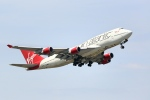 ANDさんが、ロンドン・ガトウィック空港で撮影したヴァージン・アトランティック航空 747-4Q8の航空フォト(写真)