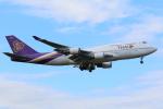 EF66901さんが、成田国際空港で撮影したタイ国際航空 747-4D7の航空フォト(写真)