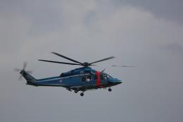 meijeanさんが、札幌飛行場で撮影した北海道警察 AW139の航空フォト(写真)